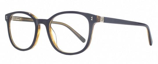 Louisa WHS005 (C1) Glasses Transparent / Navy