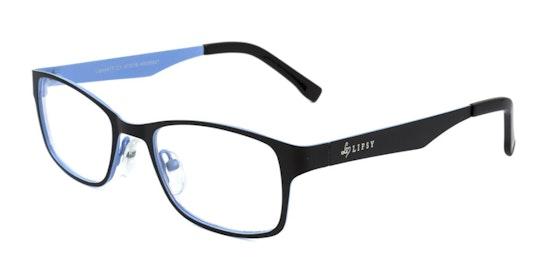 41T Children's Glasses Transparent / Black