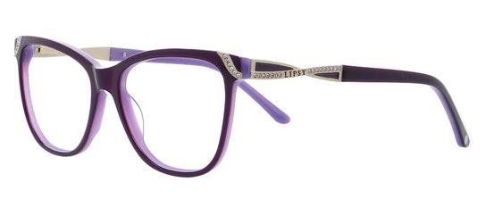 011 Women's Glasses Transparent / Violet