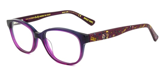 Charlie and the Chocolate Factory RD05 Children's Glasses Transparent / Pink