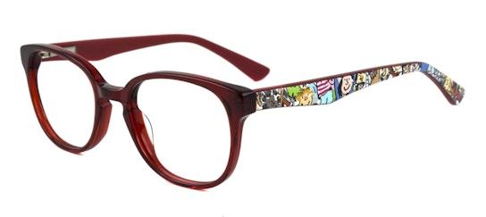 Matilda RD04 Children's Glasses Transparent / Red