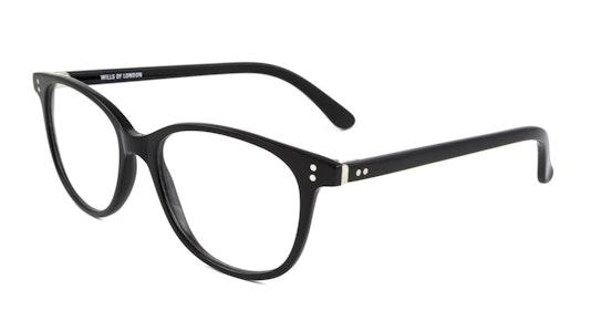 12 (C1) Children's Glasses Transparent / Black