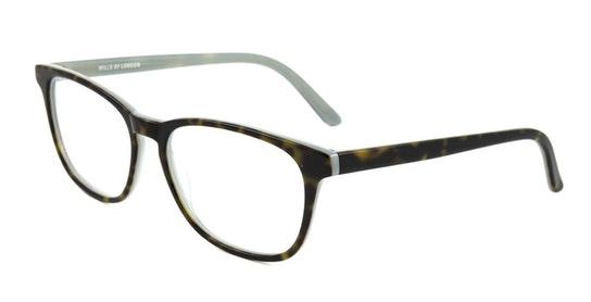 13 (C1) Children's Glasses Transparent / Green