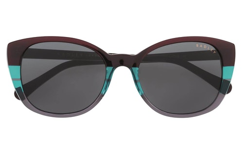 Anna Women's Sunglasses Grey / Red