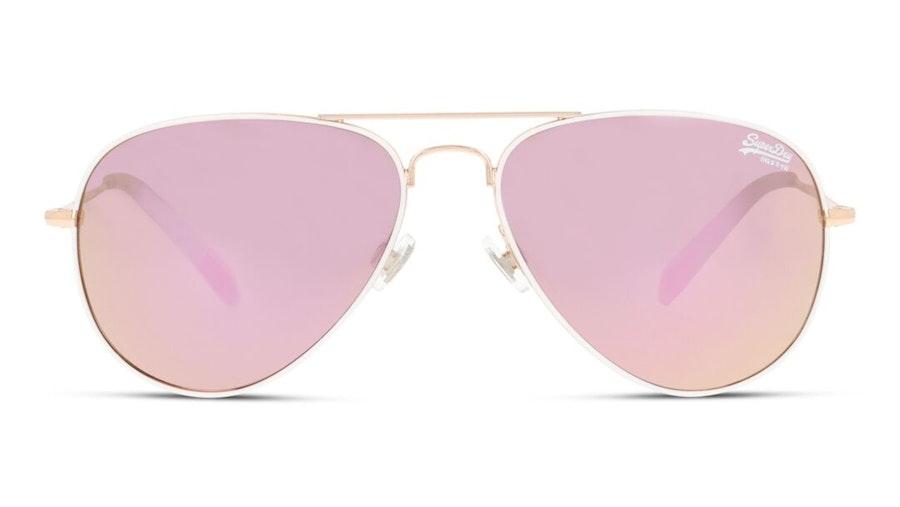Superdry Heritage SDS 201 (201) Sunglasses Pink / Gold