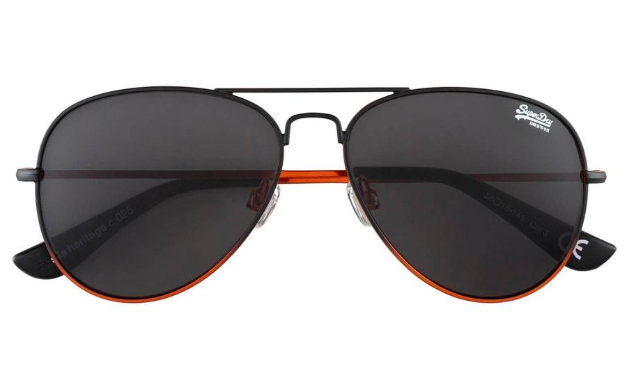 Superdry Heritage SDS 025 (025) Sunglasses Grey / Black