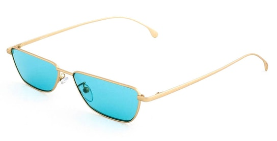 Askew PS SP009V1 (04) Sunglasses Blue / Gold