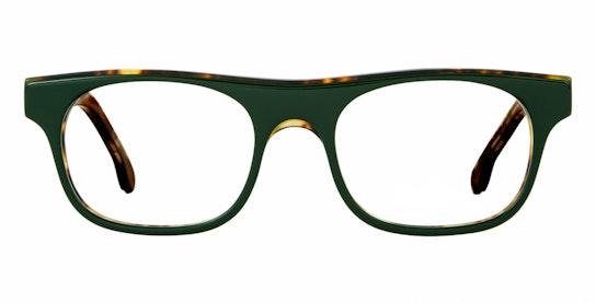 Bernard PS OP019V2 (002) Glasses Transparent / Green