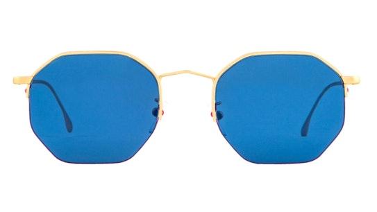 Brompton PS SP018 (04) Sunglasses Blue / Gold