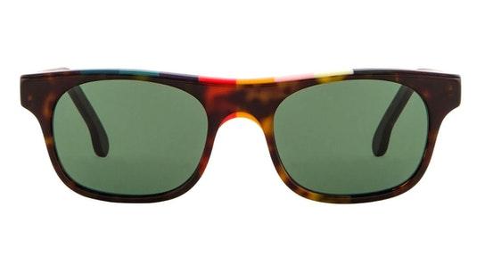Bernard PS SP019V2 (02) Sunglasses Green / Havana