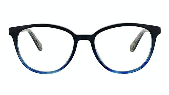 OK 055 Women's Glasses Transparent / Blue