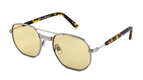 Nailsea Men's Sunglasses Brown / Silver