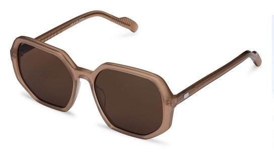 Cut Sixteen Women's Sunglasses Brown / Brown