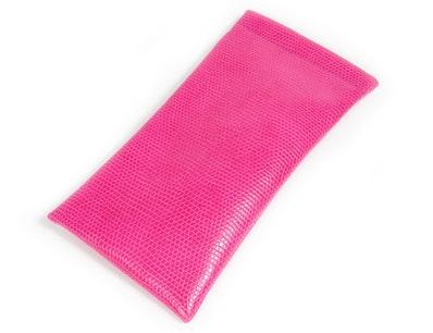 Vegan Lizard Spring-Top With Neck Cord -  Pink Pink