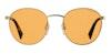 Love Island x Polaroid Round Pop PLD 2053/S Unisex Sunglasses Yellow/Orange