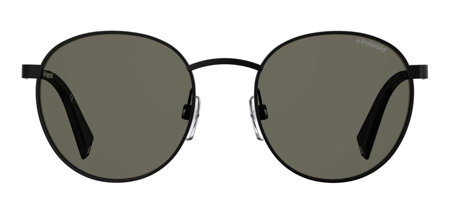 Love Island x Polaroid Round Pop PLD 2053/S Unisex Sunglasses Grey/Black