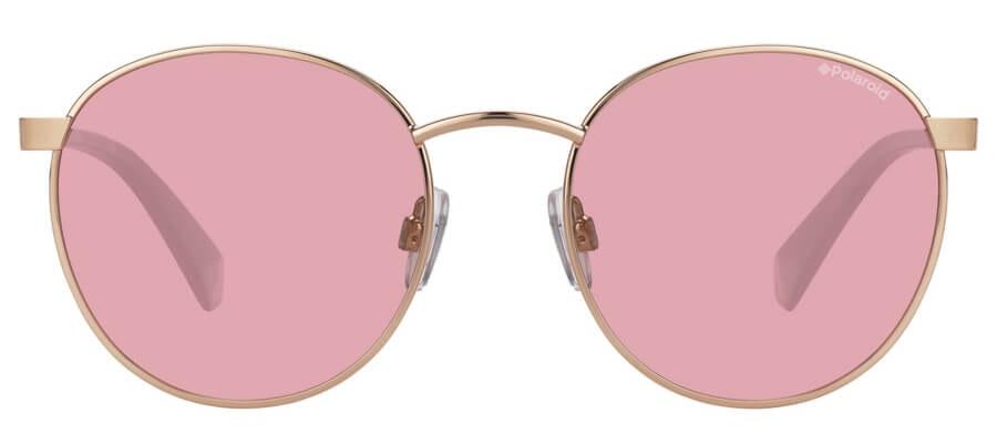 Love Island x Polaroid Round Pop PLD 2053/S Unisex Sunglasses Pink/Pink