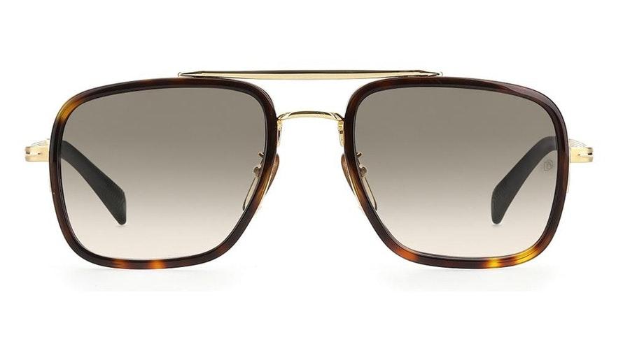 David Beckham Eyewear DB 7002/S Men's Sunglasses green / Tortoise Shell