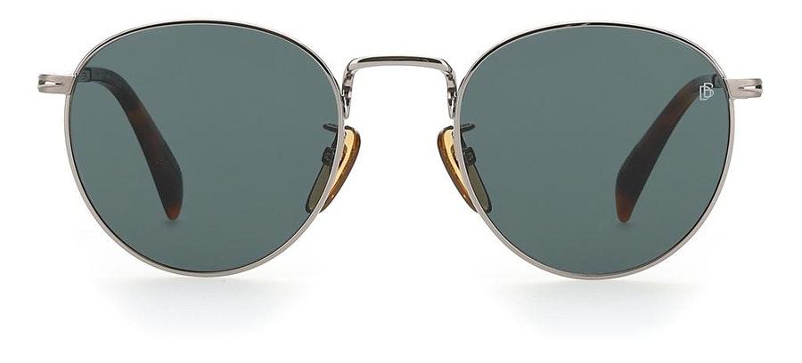 David Beckham Eyewear DB 1005/S Men's Sunglasses Green/Silver