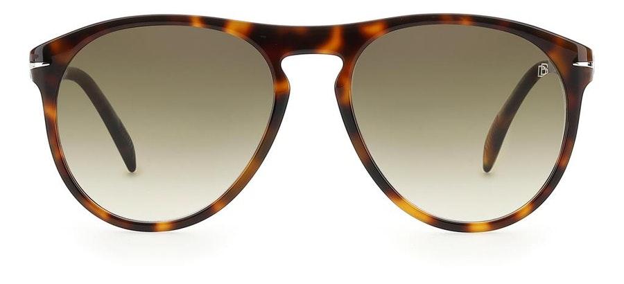 David Beckham Eyewear DB 1008/S Men's Sunglasses Green / Tortoise Shell