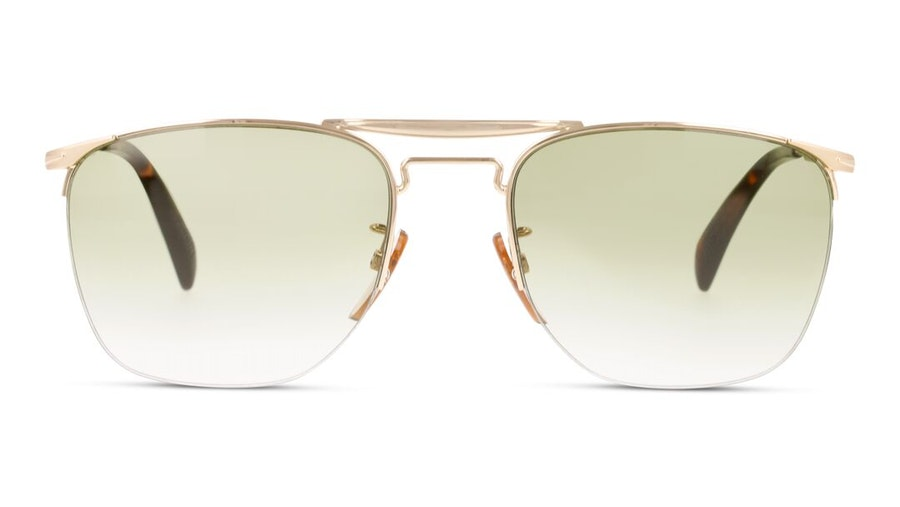 David Beckham Eyewear DB 1001/S Men's Sunglasses Brown/Silver