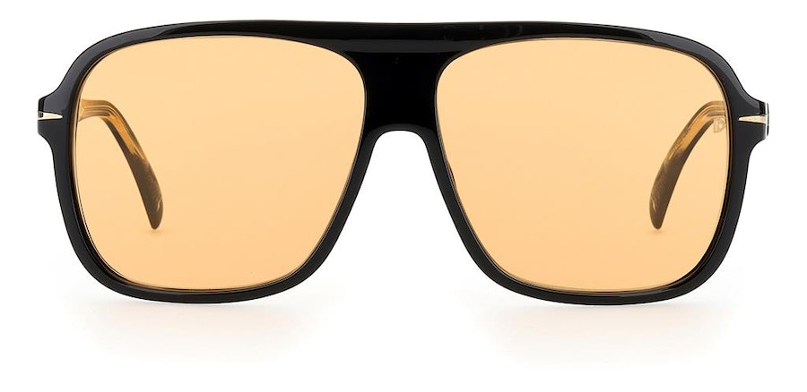 David Beckham Eyewear DB 7008/S Men's Sunglasses Orange / Black