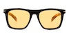 David Beckham Eyewear DB 7000/S Men's Sunglasses Orange/Black