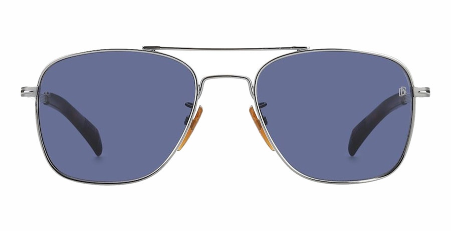 David Beckham Eyewear DB 7019/S Men's Sunglasses Blue/Silver