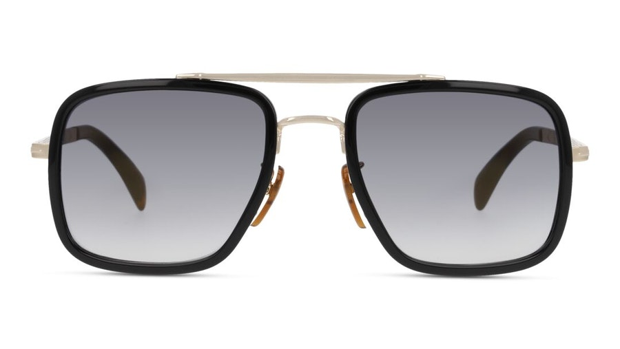 David Beckham Eyewear DB 7002/S Men's Sunglasses Grey/Black
