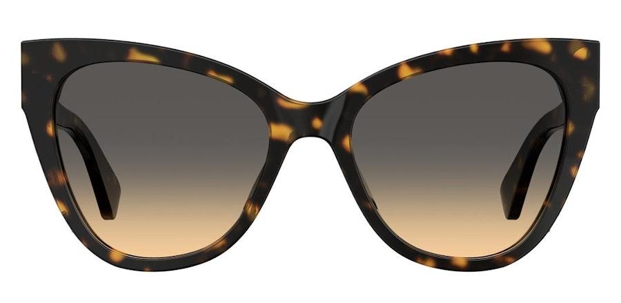 Moschino MOS 056/S Women's Sunglasses Brown/Tortoise Shell