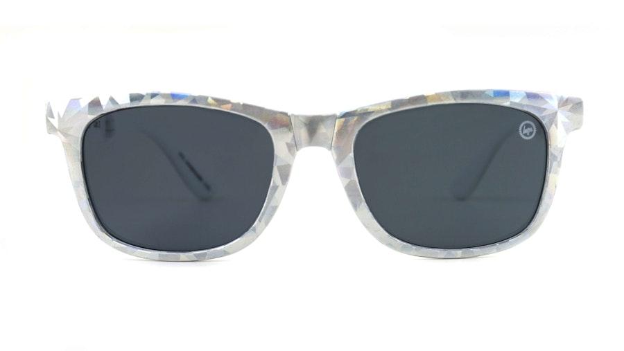 Hype Folder Children's Sunglasses Blue/Silver