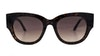 Guess GU 7680 Women's Sunglasses Brown/Tortoise Shell