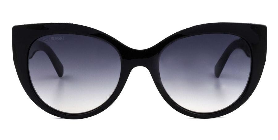 Swarovski SK 0202 Women's Sunglasses Grey/Black
