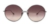 Sunday Somewhere Lola Women's Sunglasses Red/Silver