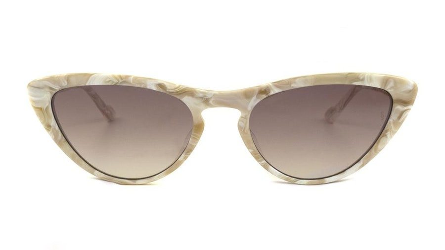 Sunday Somewhere Bon Women's Sunglasses Brown/White