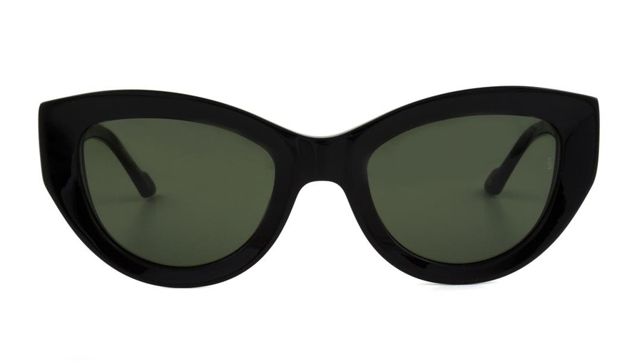 Sunday Somewhere Harper Women's Sunglasses Green / Black