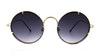 Spitfire Poolside Women's Sunglasses Grey/Gold