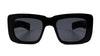Spitfire Cut Thirteen Women's Sunglasses Grey/Black