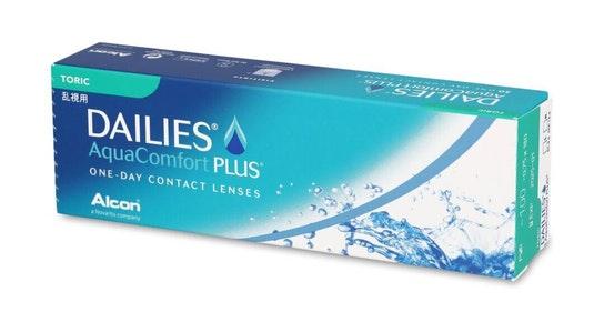 Dailies AquaComfort Plus (1 day toric for astigmatism)