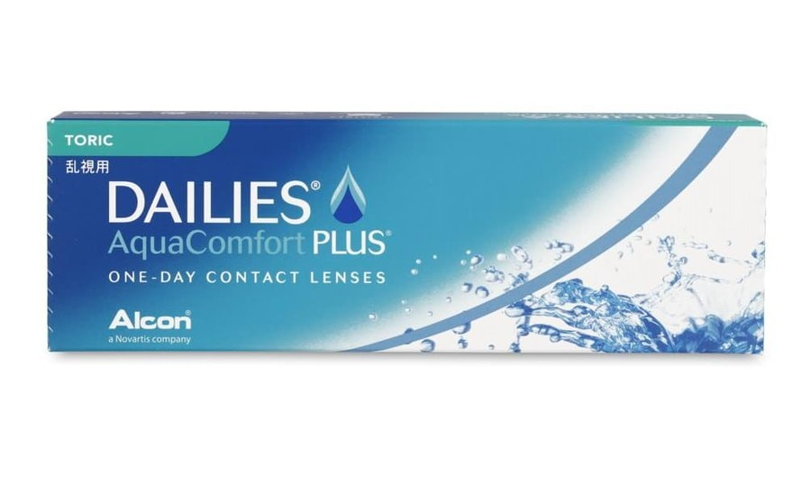 Dailies AquaComfort Plus (1 day toric for astigmatism)
