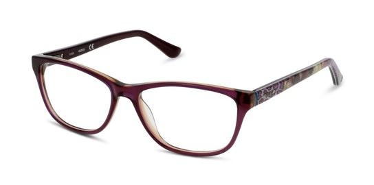 GU 2513 Women's Glasses Transparent / Purple