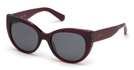 SK 0202 Women's Sunglasses Grey / Red
