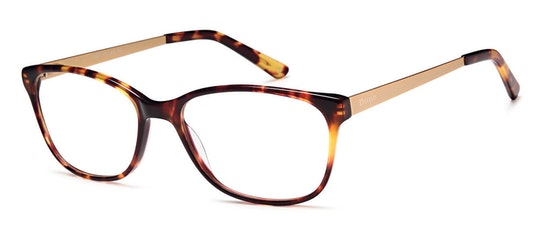 006 Women's Glasses Transparent / Brown