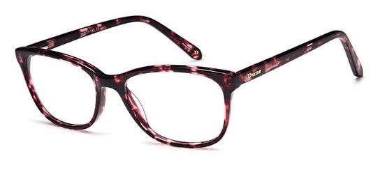 012 Women's Glasses Transparent / Pink