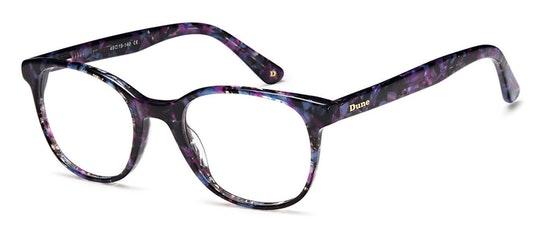 014 Women's Glasses Transparent / Purple