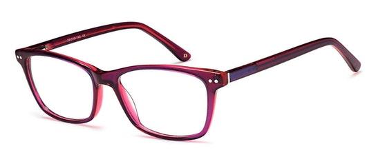 022 Women's Glasses Transparent / Purple