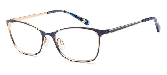 029 Women's Glasses Transparent / Navy
