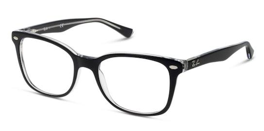 RX 5285 Women's Glasses Transparent / Black