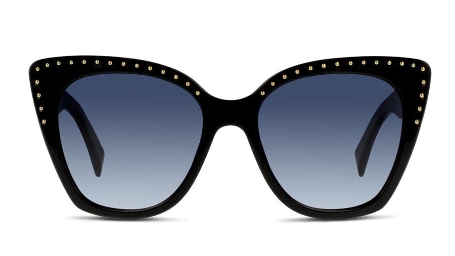 Moschino MOS 005/S Women's Sunglasses Grey / Black