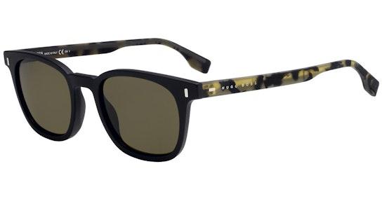 BOSS 0970/S Men's Sunglasses Brown / Black